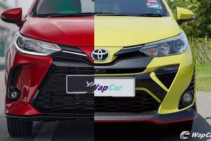 2021 Toyota Yaris facelift - new vs old, small price bump but what's new?