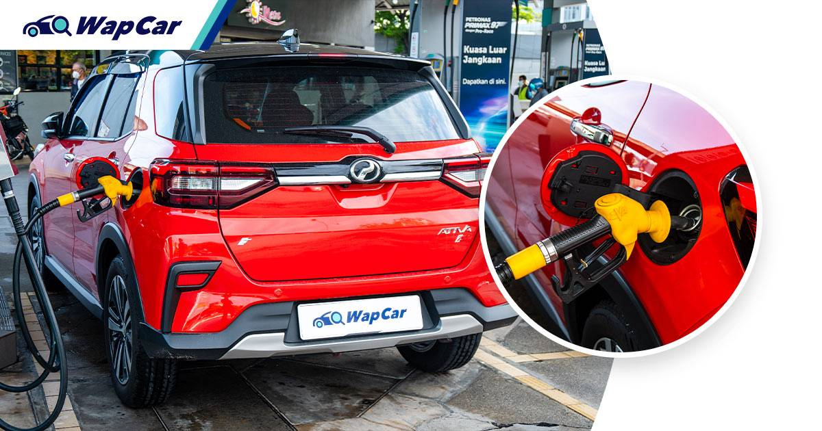 We've spent RM1,461 on petrol for our 2021 Perodua Ativa in 6 months, Long Term Review #16 01