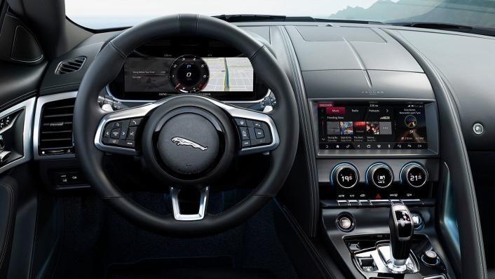 2020 Jaguar F‑TYPE Coupe Interior 002