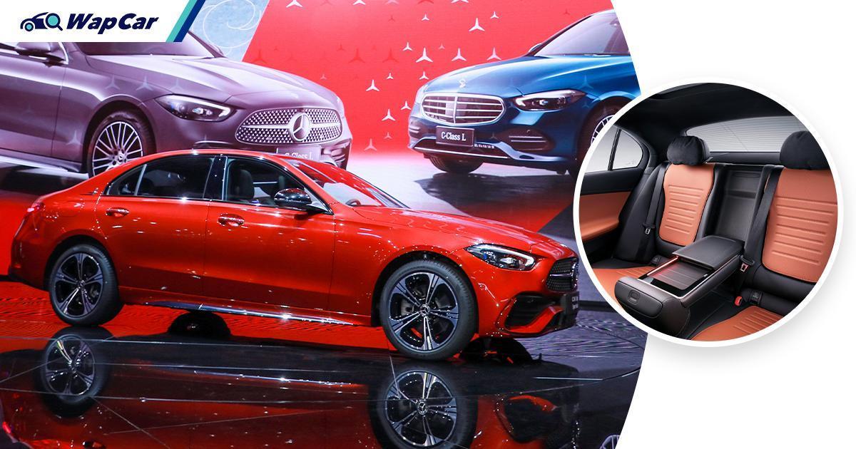 LWB 2021 Mercedes-Benz C-Class L unveiled; more luxurious than the BMW 330 Li 01