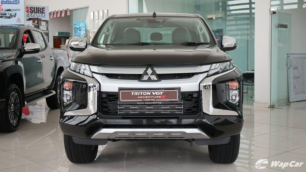 2019 Mitsubishi Triton VGT Adventure X Exterior 002