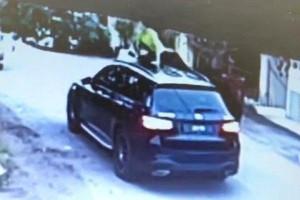 Cheapskate aunties climb on Mercedes-Benz GLC to stealmangoes