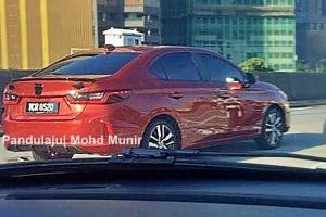 Spied: All-new 2020 Honda City spotted in Malaysia, launch imminent?