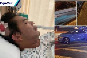 TERKINI: Pemandu Perodua Alza yang belasah pemilik Honda S660 ditahan oleh PDRM
