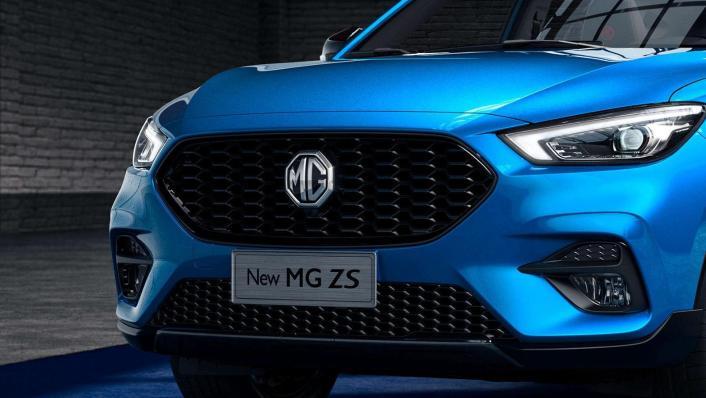 2020 MG ZS Upcoming Version Exterior 004