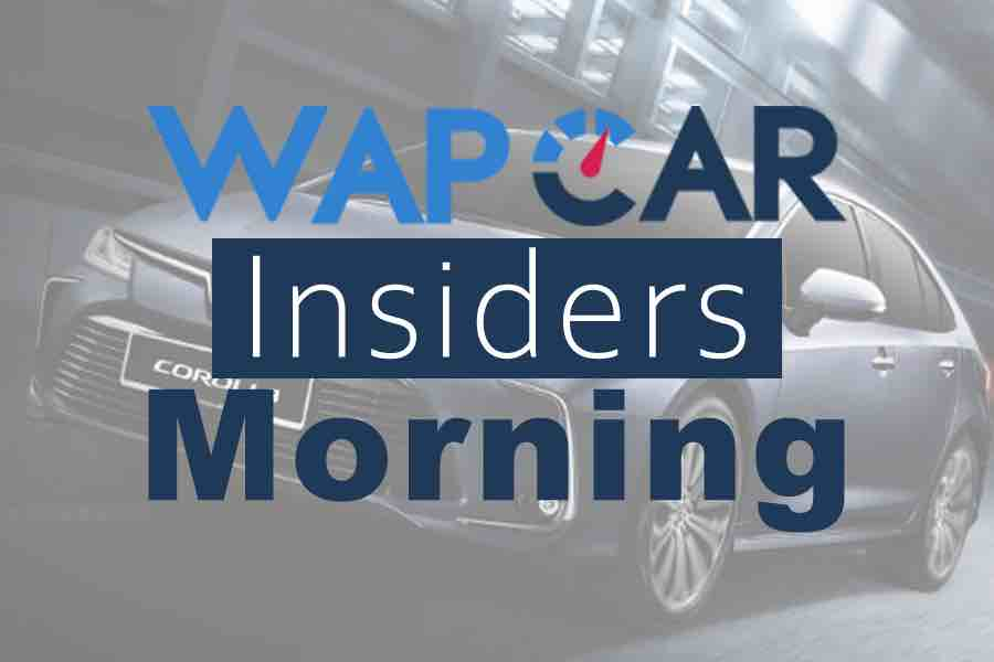 Wapcar Morning Insiders (Sep. 13, 2019)
