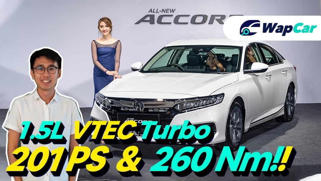 2020 Honda Accord in Malaysia