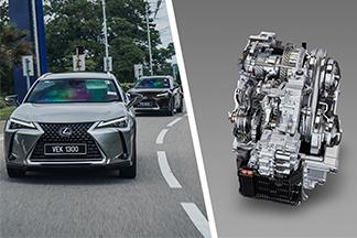 Lexus UX's Direct-Shift CVT is a CVT enthusiasts can accept
