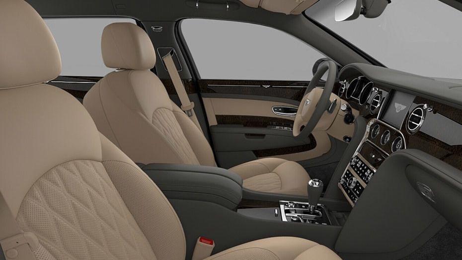 Bentley Mulsanne (2017) Interior 007