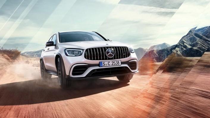 2018 Mercedes-Benz AMG GLC 300 Coupe AMG Line Exterior 005