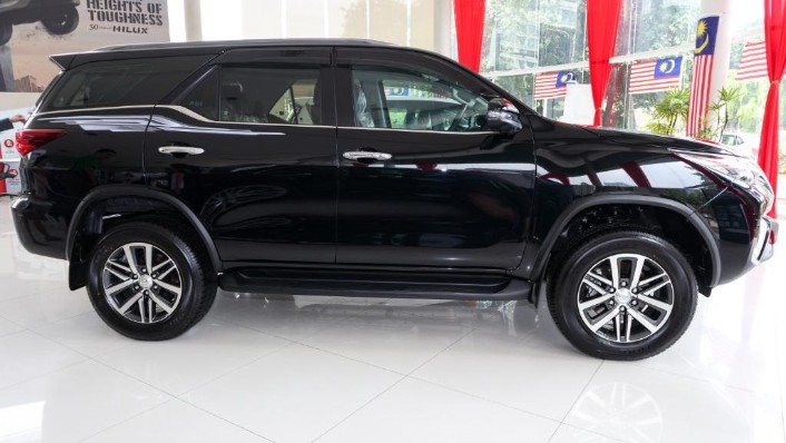 2018 Toyota Fortuner 2.7 SRZ AT 4x4 Exterior 003