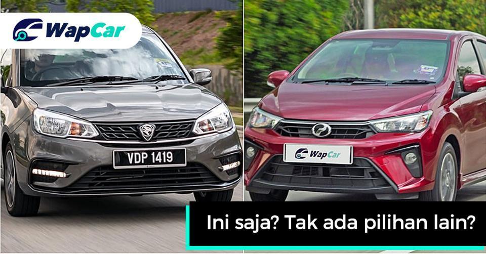 5 alternatif lebih bagus daripada Proton Saga/Perodua Bezza yang kita harap kita dapat 01