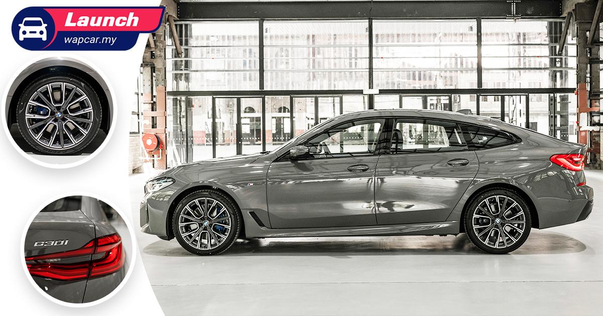 Priced from RM 417k, G32 2021 BMW 630i GT M Sport facelift (LCI) launched in Malaysia 01