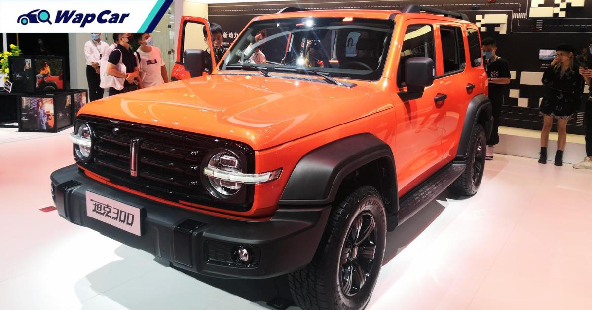 The Wey Tank 300 is a techier and more affordable Jeep Wrangler 01