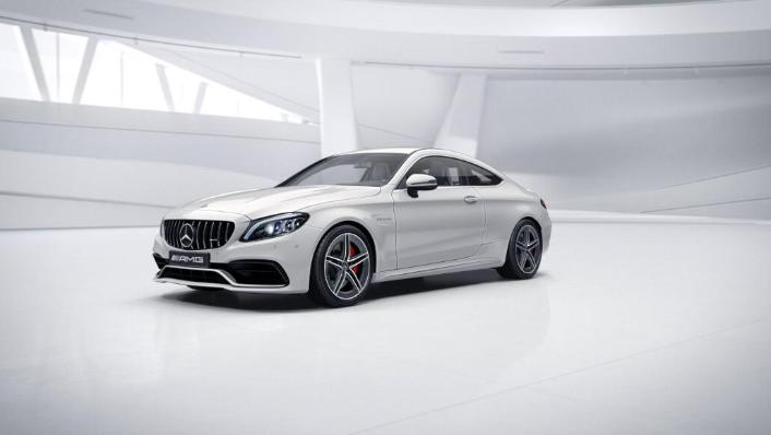 2018 Mercedes-Benz AMG C-Class Coupe C 63 S Exterior 001