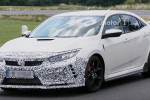 Spy Shots: What's New for FK8 Honda Civic Type R facelift?   