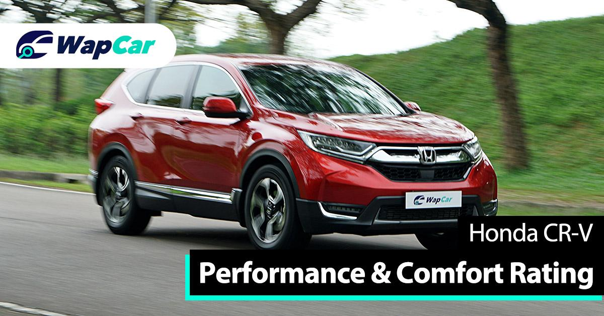 Ratings - Honda CR-V's performance and ride comfort, high marks for engine performance 01
