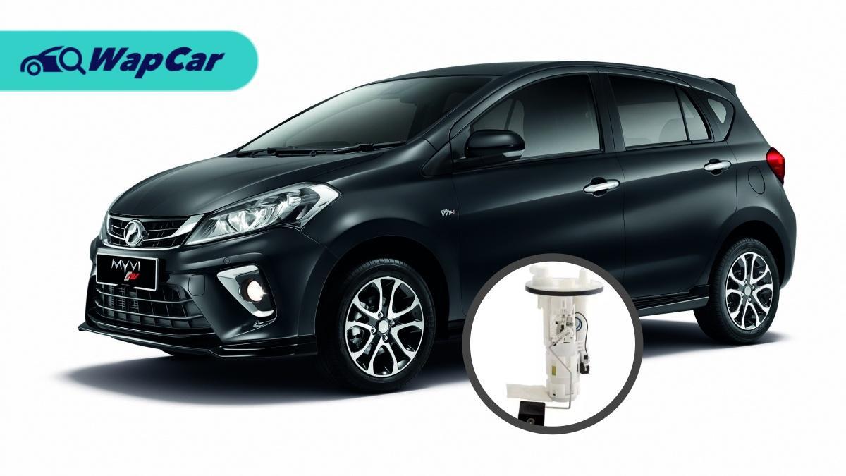 Perodua issues fuel pump recalls for 2018/2019 Perodua Myvi 01