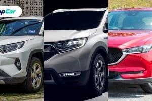 Toyota RAV4 2020 vs Honda CR-V vs Mazda CX-5 – Yang mana satu patut anda beli?