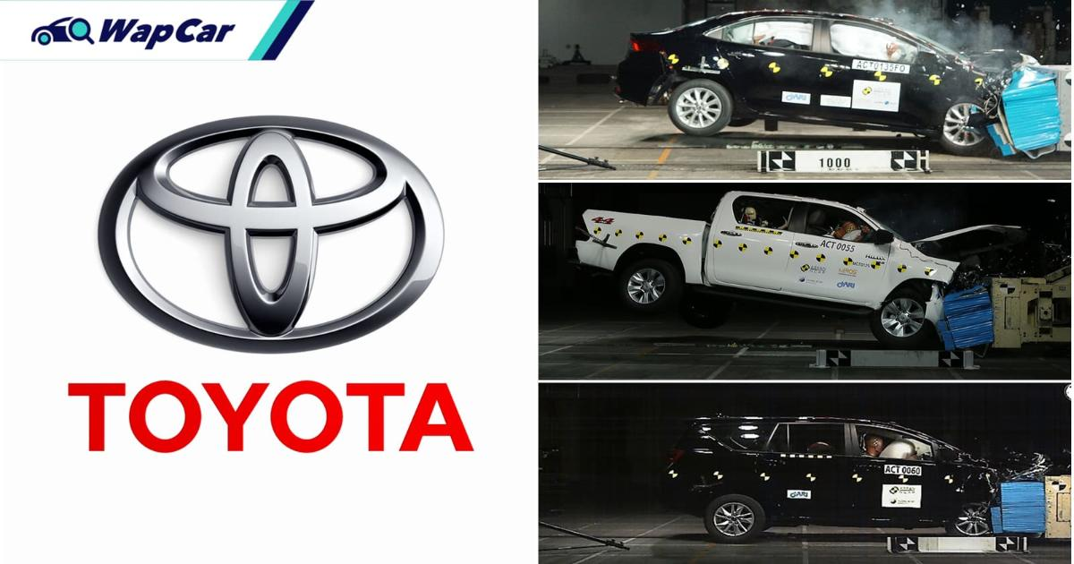 Toyota rangkul 3 anugerah di ASEAN NCAP Award 2019-2020! 01
