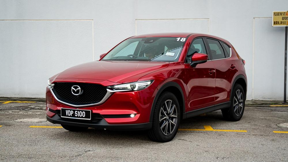 2019 Mazda CX-5 2.5L TURBO Exterior 001