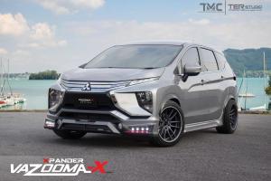 Rupa Mitsubishi Xpander tak cukup 'xtreme'? Tambahlah kit badan Vazooma-X!