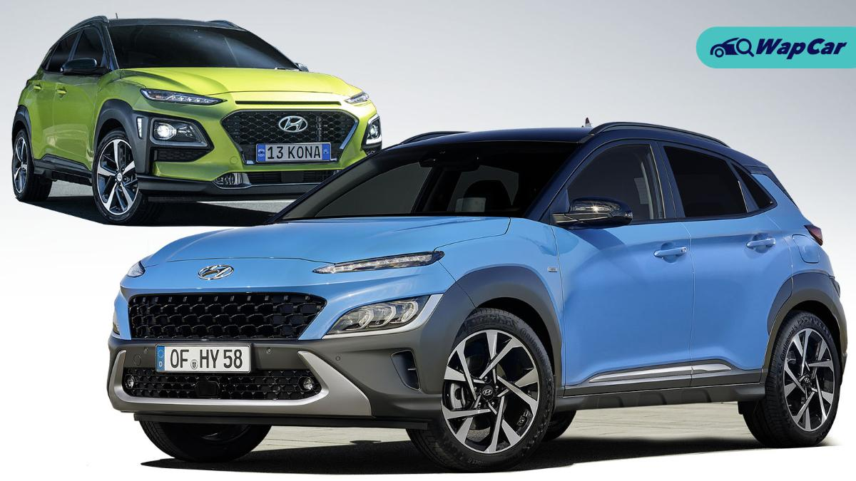 New facelifted Hyundai Kona vs pre-facelift, what's the difference? 01