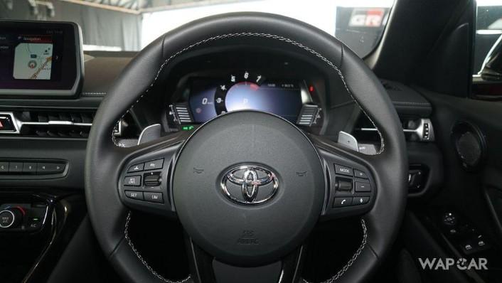 2019 Toyota GR Supra 3.0L Interior 003