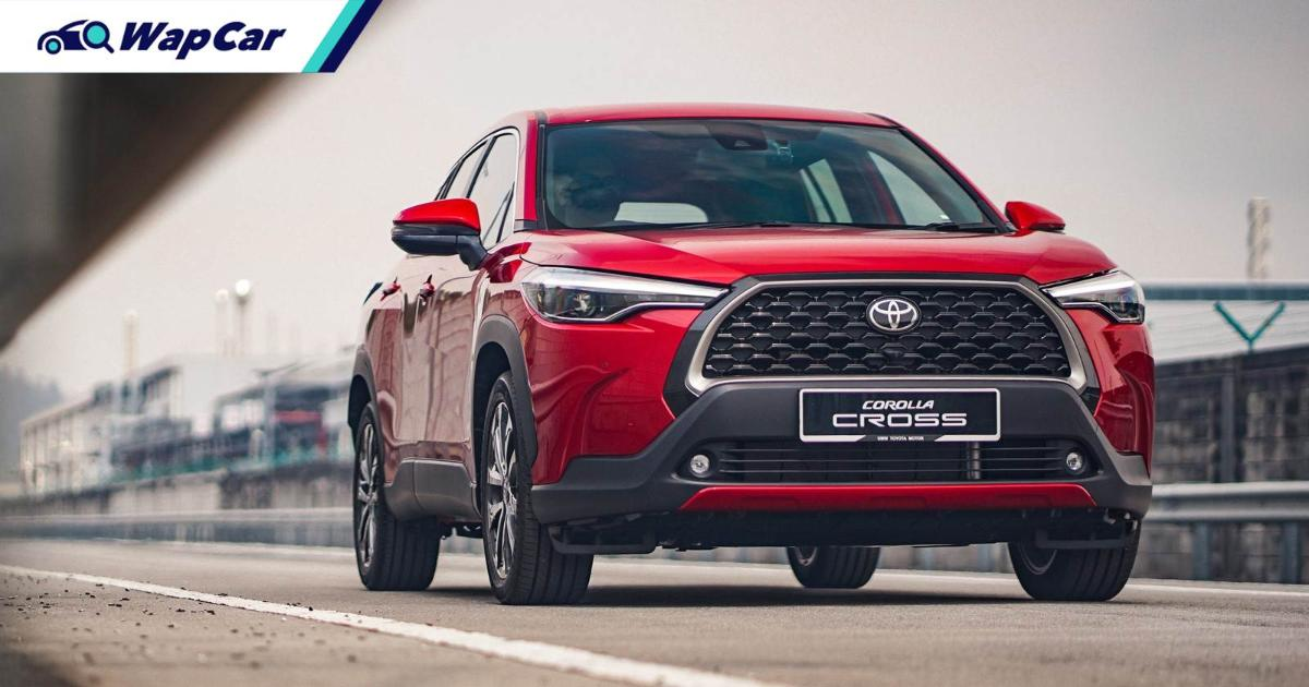 Thailand's Toyota Corolla Cross bullies rivals into submission for Q1 2021, Honda HR-V and Subaru XV trails far behind 01