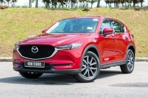 Ratings: Mazda CX-5 2.5L Turbo fuel consumption, did not score very well but still acceptable