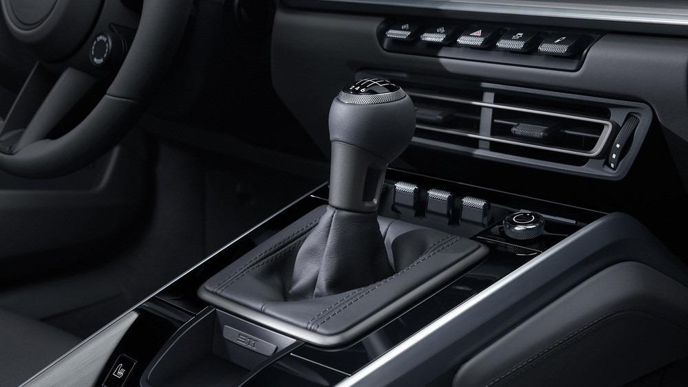 Porsche 911 manual lever