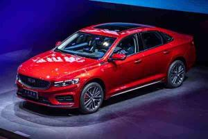 Geely Preface global debut at the 2020 Beijing Auto Show