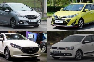 Which B-segment hatchback has the best power-to-weight ratio?