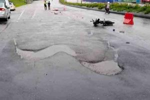 DBKL: Killer pothole stretch patched 9 times in 4 months