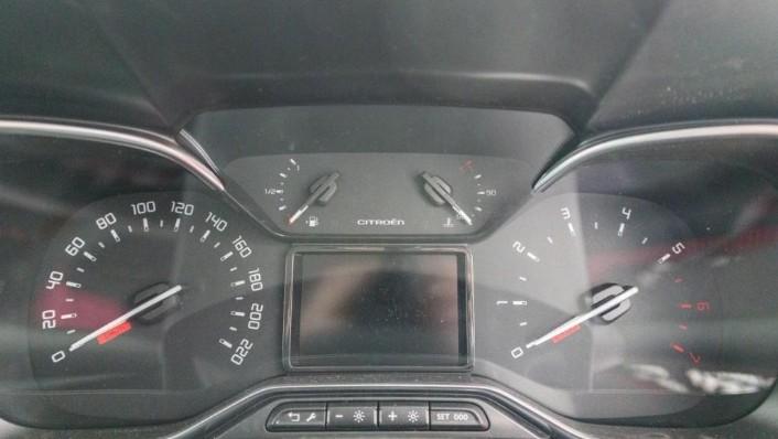 2019 Citroën New C3 AIRCROSS SUV Interior 010