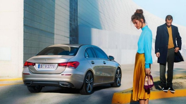 2019 Mercedes-Benz A200 Sedan Progressive Line Exterior 006