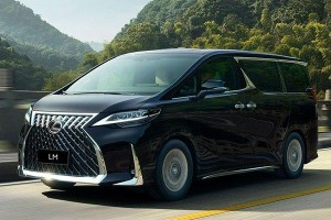 Lexus LM 350 launched in Indonesia – pimped out Alphard?