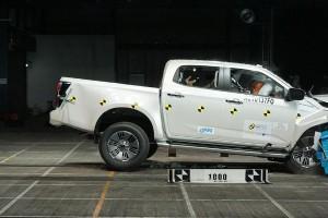 2020 Isuzu D-Max is the safest pick-up truck in ASEAN