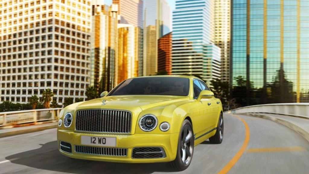 Bentley Mulsanne (2018) Exterior 005