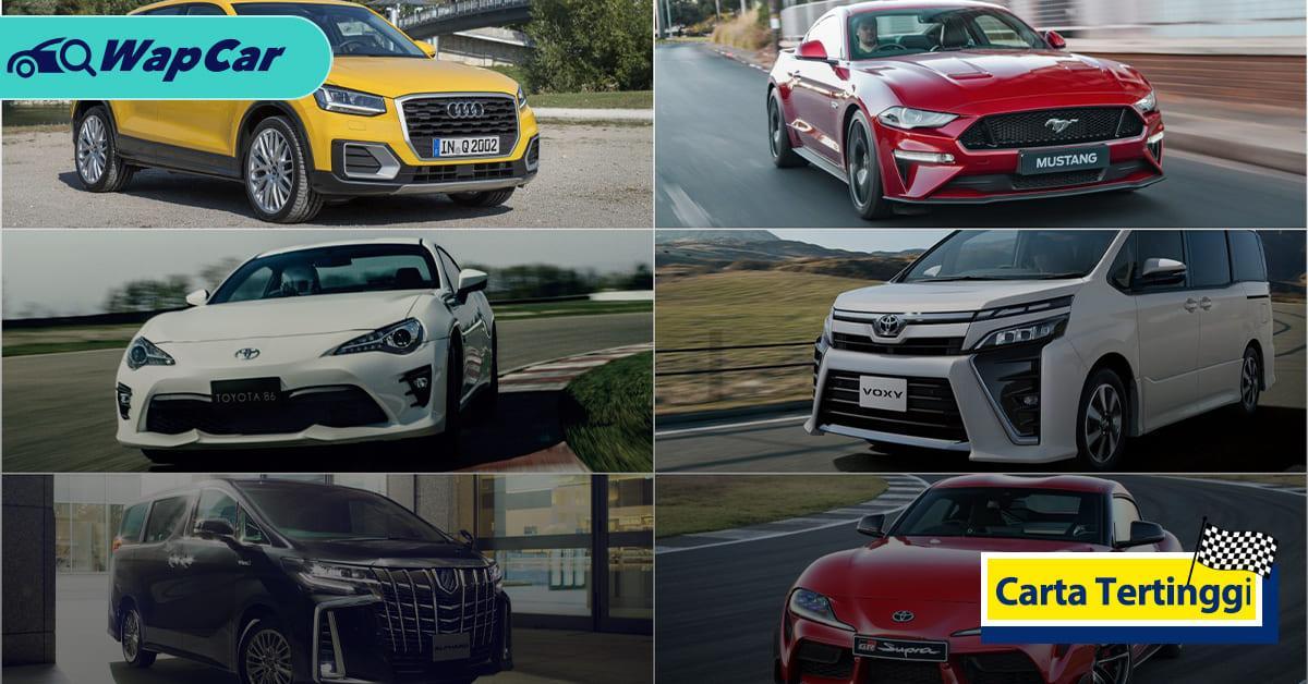 Carta Tertinggi: 6 kenderaan yang lebih baik dibeli