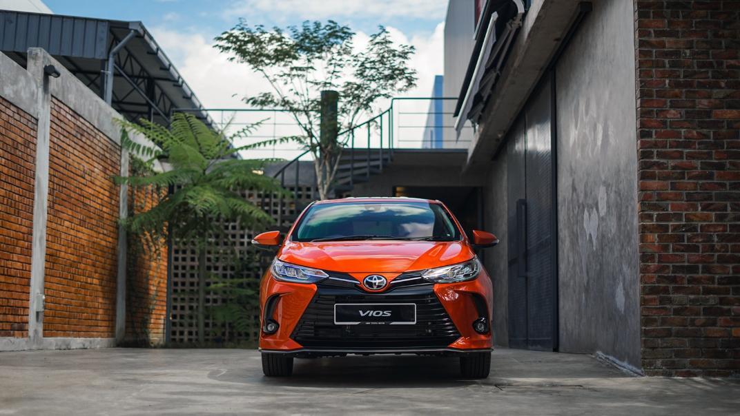 2021 Toyota Vios 1.5E Exterior 001