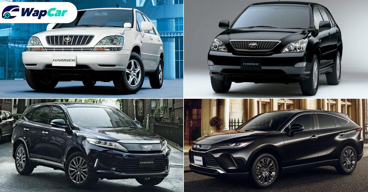 Toyota Harrier, how much it has evolved over 23 years 01