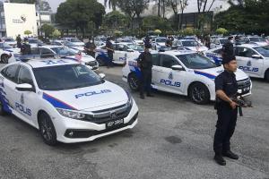 Honda Civic, Proton X70 bantu Polis Perak kurangkan jenayah!