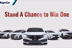 Menangi 7 model Special Edition Honda, frontliners lebih tinggi peluang untuk menang!