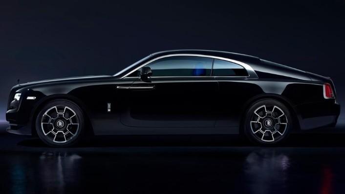 2018 Rolls-Royce Wraith Wraith Black Badge Exterior 001