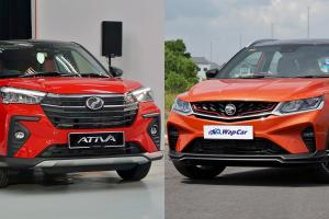 2021 Perodua Ativa 1.0 AV vs Proton X50 1.5T Standard – Do you need a bigger car?