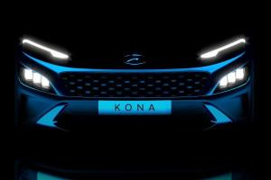 2021 Hyundai Kona facelift teased! New sport-car like bonnet