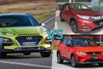 Hyundai Kona vs Proton X50 vs Honda HRV: Kona low spec harga RM 115k! Fokus pada ciri-ciri?
