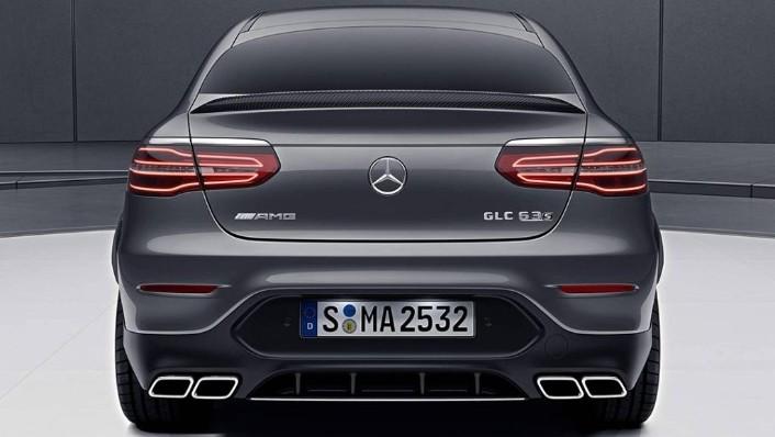 2018 Mercedes-Benz AMG GLC 300 Coupe AMG Line Exterior 008