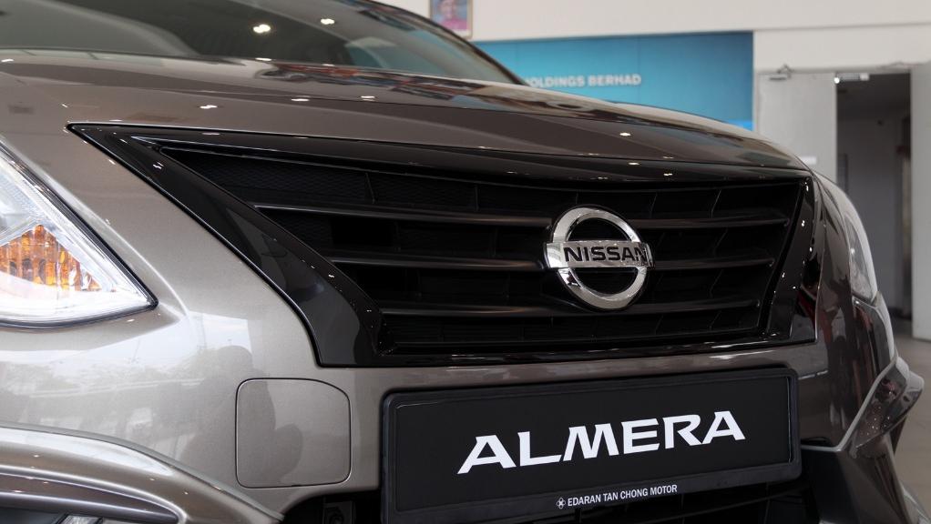 2018 Nissan Almera 1.5L VL AT Exterior 011